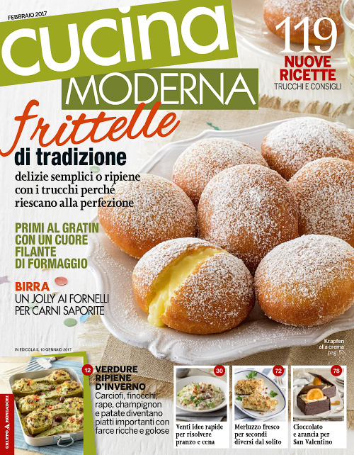 Cucina moderna febbraio 2017 free pdf magazines for ipad iphone android and other devices - Cucina moderna magazine ...