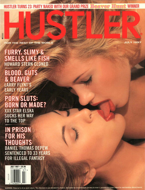 Hustler USA - July 1997