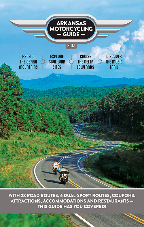 Arkansas Motorcycling Guide - 2017