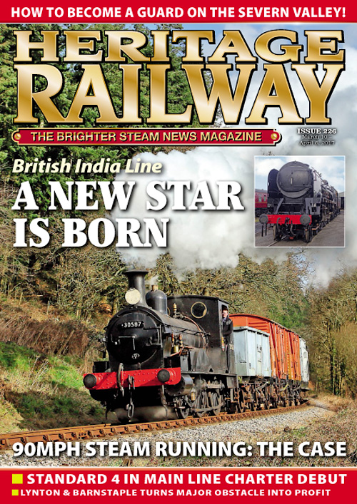 Heritage Railway - 10 March - 6 April 2017