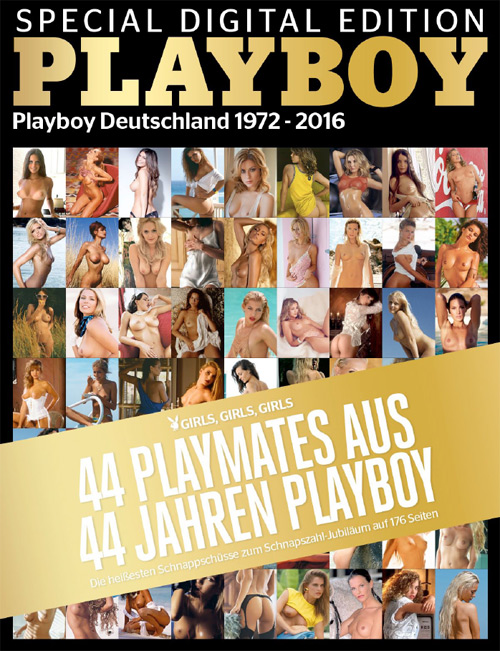 Playboy Germany Special Digital Edition - 44 Jahre Playboy 2016