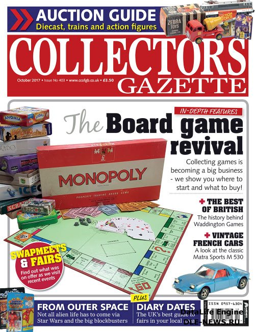 Collectors Gazette - October 2017