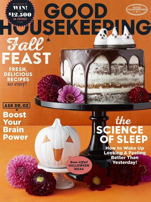 Good Housekeeping USA - October 2017