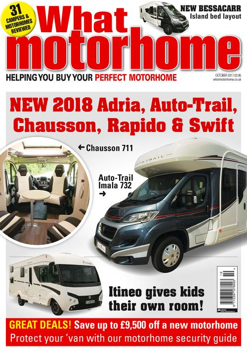 What Motorhome New 2018 Motorhomes - October 2017