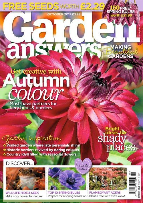 Garden Answers - October 2017