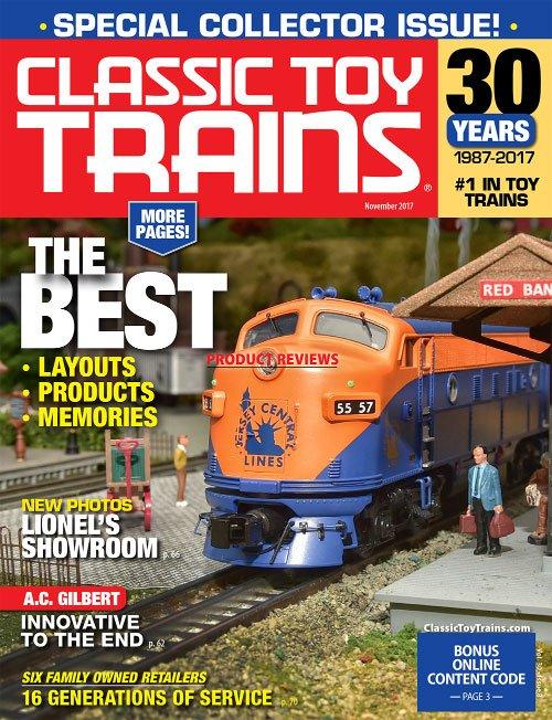 Classic Toy Trains - November 2017