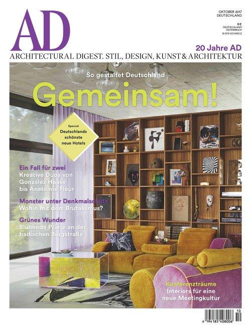 AD Architectural Digest Germany - Oktober/November 2017