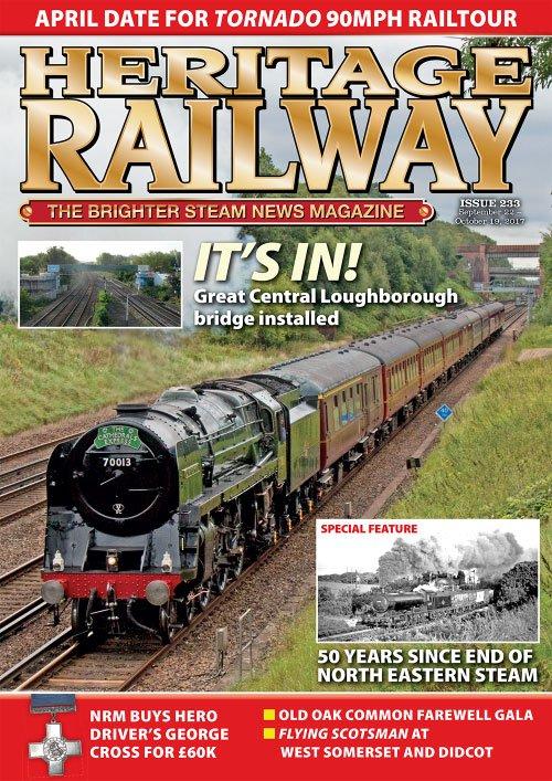 Heritage Railway 233 - 22 September-19 October 2017