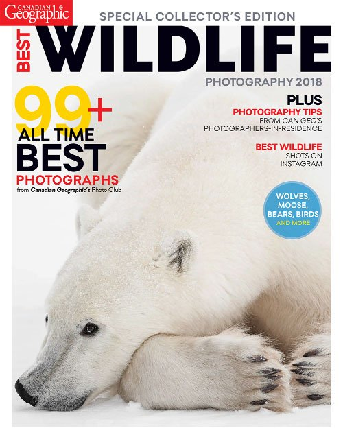 Canadian Geographic - Best Wildlife Photography 2018