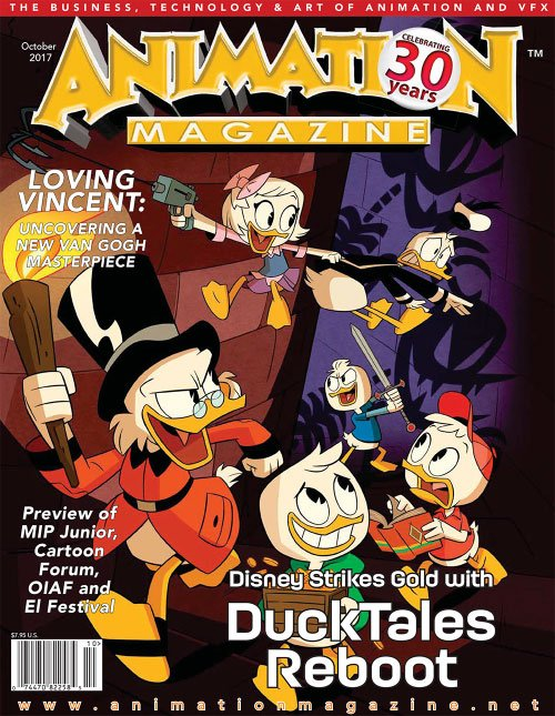 Animation Magazine - October 2017