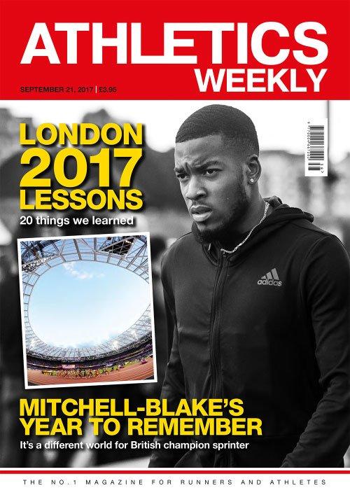 Athletics Weekly - September 21, 2017