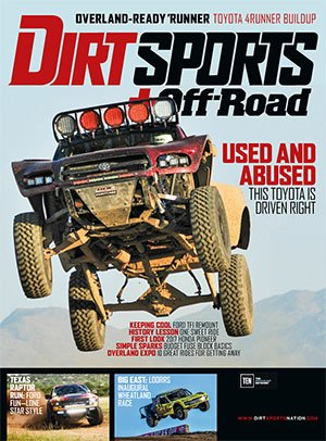 Dirt Sports + Off-road - December 2017