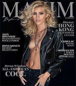 Maxim USA - October 2017