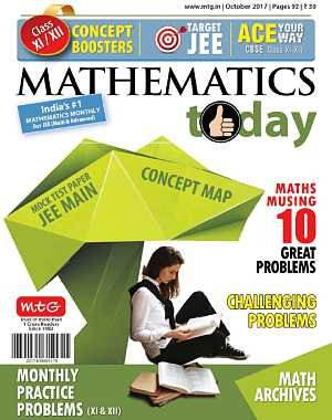Mathematics Today - October 2017