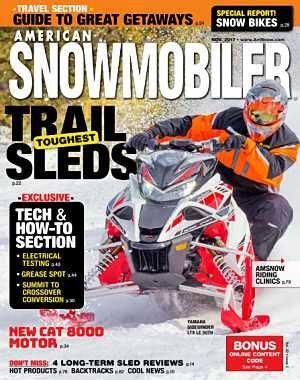 American Snowmobiler - November 2017