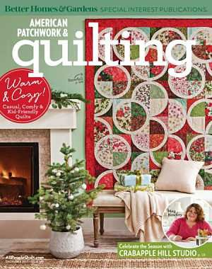 American Patchwork and Quilting - December 2017