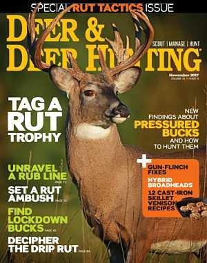 Deer and Deer Hunting - November 2017