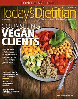 Today's Dietitian - October 2017
