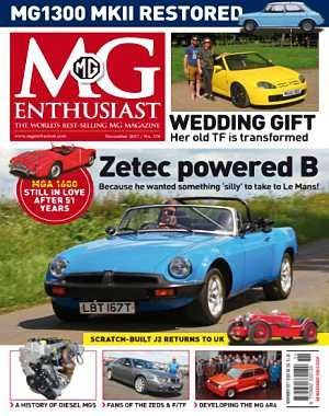 MG Enthusiast - November 2017