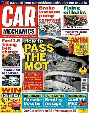 Car Mechanics - November 2017