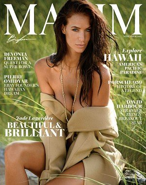 Maxim USA - November 2017