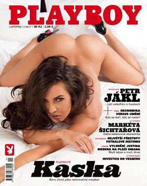 Playboy Czech Republic - Listopad 2017