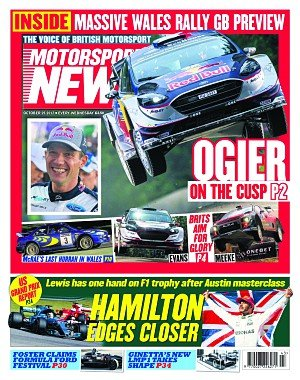 Motorsport News - October 25, 2017