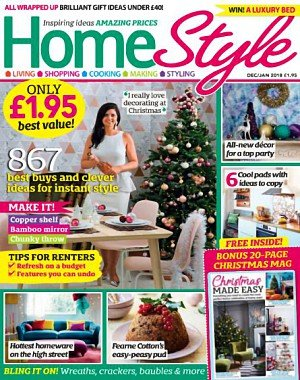 HomeStyle UK - December 2017 - January 2018