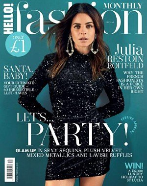 Hello! Fashion Monthly - December 2017 - January 2018