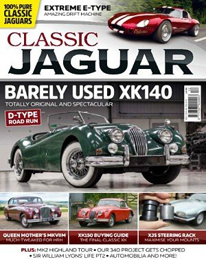 Classic Jaguar - December 2017 - January 2018