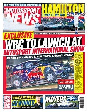 Motorsport News - November 08, 2017
