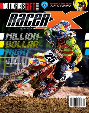 Racer X Illustrated - January 2018