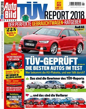 Auto Bild Spezial - TÜV Report 2018