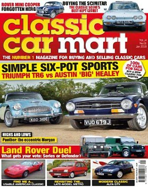 Classic Car Mart - January 2018