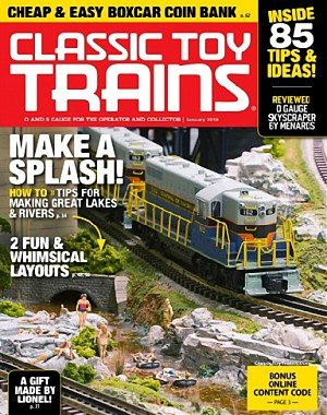 Classic Toy Trains - January 2018