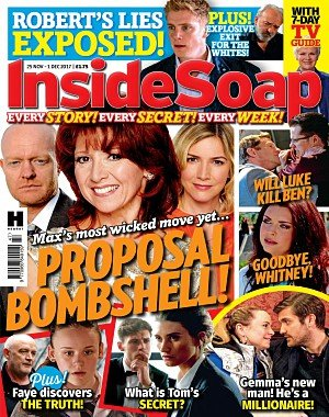 Inside Soap UK - 25 November 2017