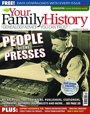 Your Family History - December 2017