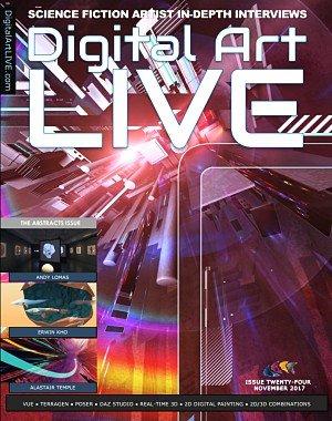 Digital Art Live - Issue 24, November 2017