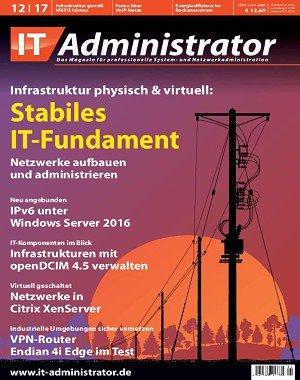 IT-Administrator - Dezember 2017