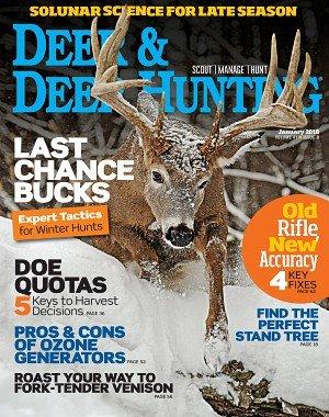 Deer and Deer Hunting - January 2018