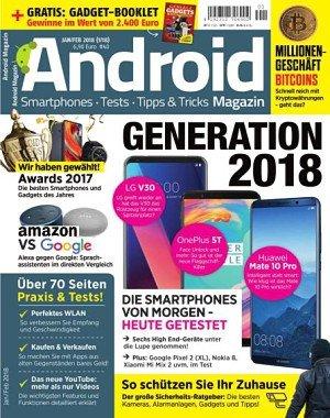 Android Magazin - Januar-Februar 2018
