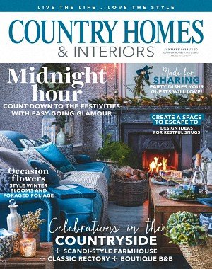 Country Homes and Interiors - January 2018
