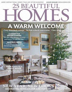 25 Beautiful Homes - January 2018