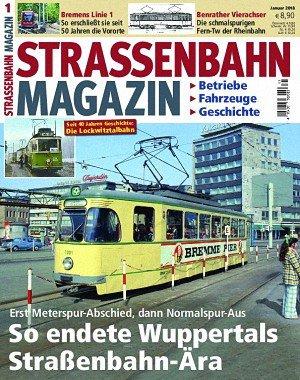 Strassenbahn Magazin - Januar 2018