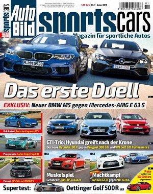 Auto Bild Sportscars - Januar 2018