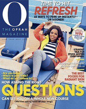 O, The Oprah Magazine - January 2018