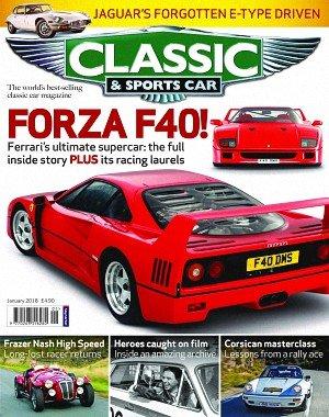 Classic and Sports Car UK - January 2018