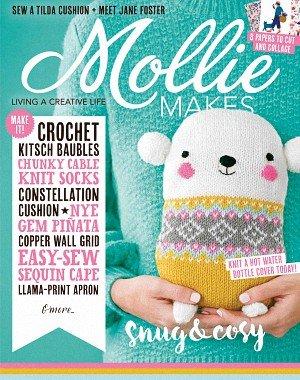 Mollie Makes - January 2018