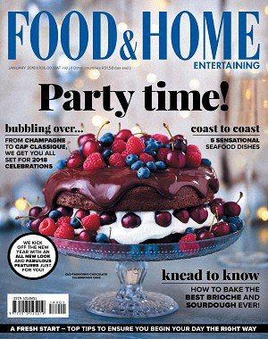Food and Home Entertaining - January 2018