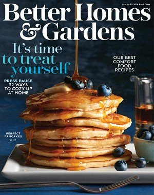 Better Homes and Gardens USA - January 2018